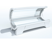 Sketch of a sunbed