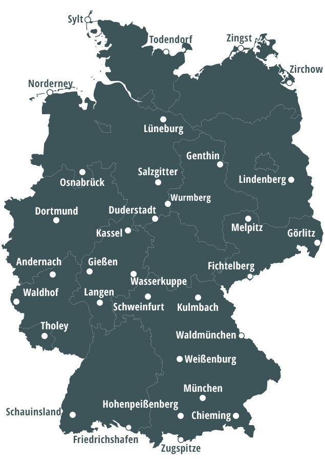 München Karte Deutschland.Bfs Aktuelle Messwerte
