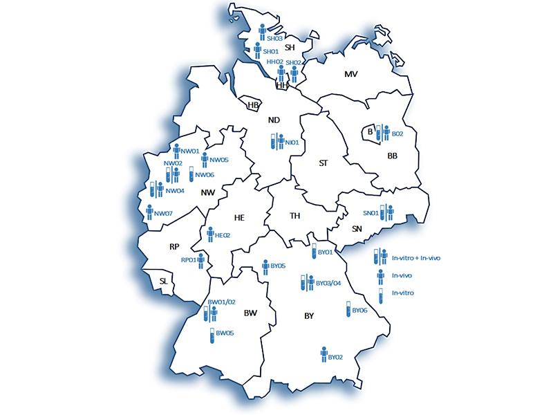 Radon Karte Unterfranken.Bfs Behordlich Bestimmte Messstellen